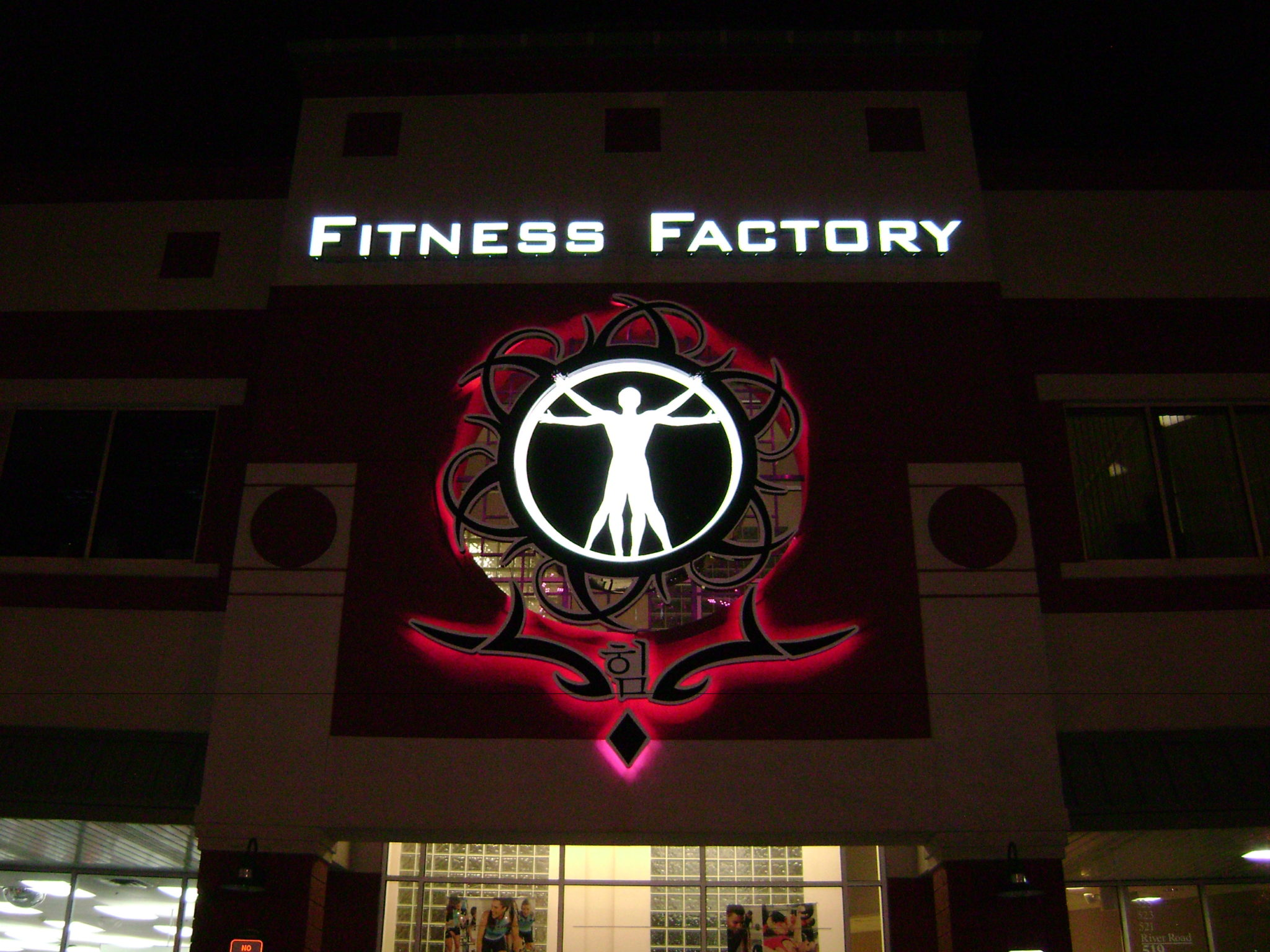 Health Gym Signs West Orange
